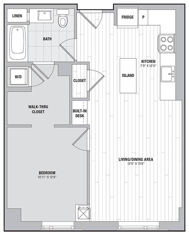 Apartment 0914 floorplan