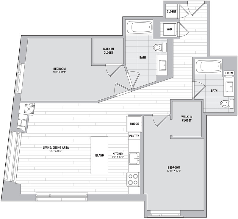 Apartment 0501 floorplan