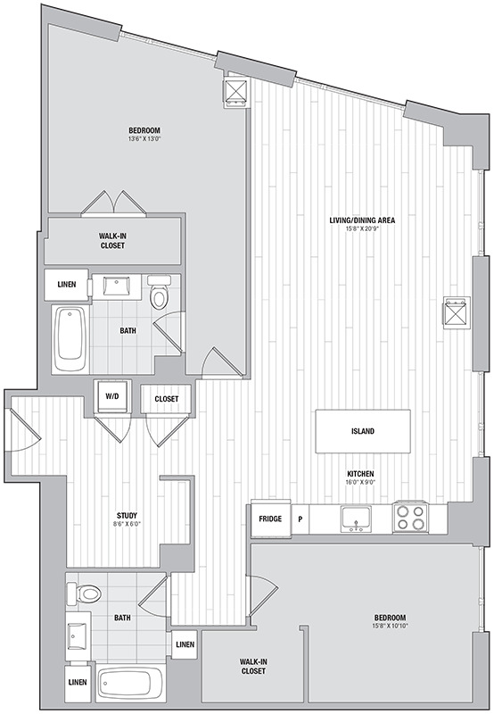 Apartment 2006 floorplan