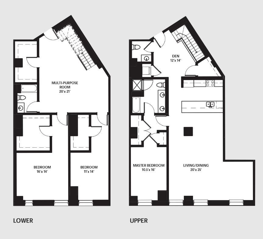 Apartment 0203 floorplan