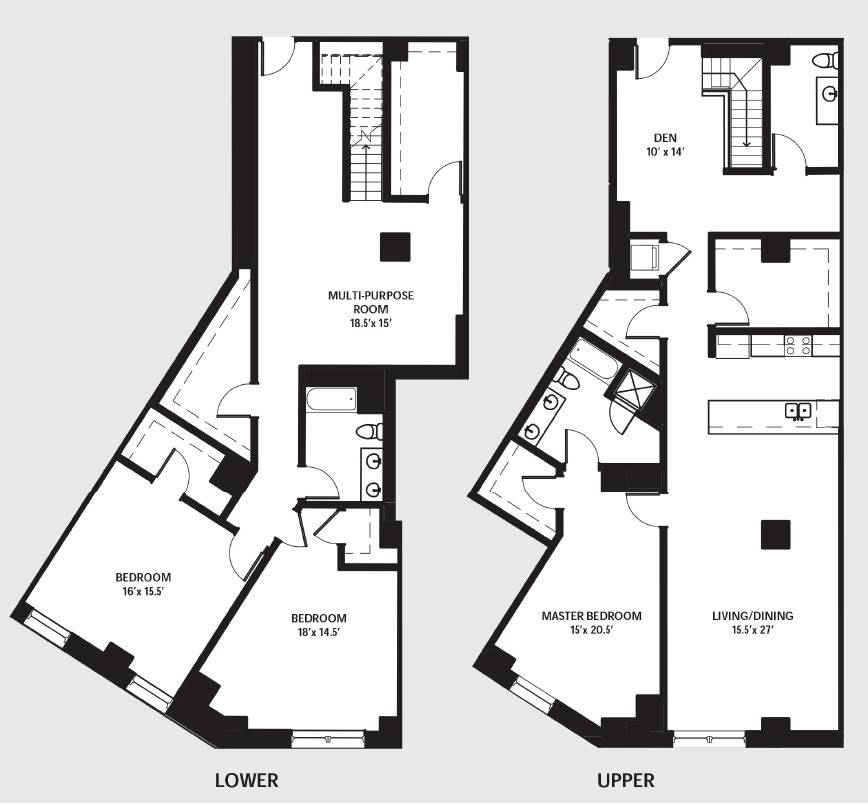 Apartment 0204 floorplan